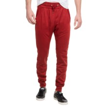 French Terry Joggers (For Men) in Red - 2nds