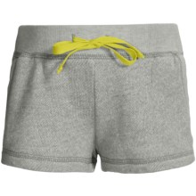 French Terry Sweatshorts - Elastic Waistband (For Girls) in Grey - 2nds