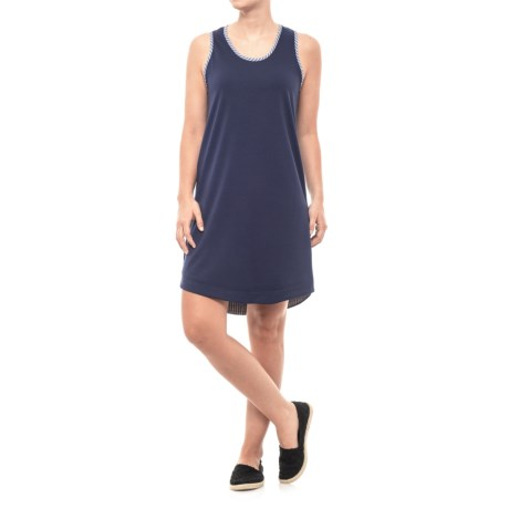 French Terry Tank Dress - Sleeveless (For Women)