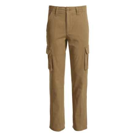 French Toast Cargo Pants (For Big Boys) in Ant Bronze - Closeouts