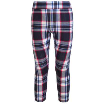 French Toast Printed Leggings (For Little and Big Girls) in Varsity Plaid - Closeouts