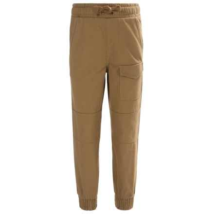 French Toast Twill Pants (For Little and Big Boys) in Ant Bronze - Closeouts