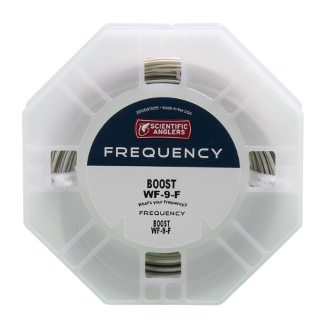 Frequency Boost Fly Line – Weight Forward, Floating