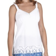 Fresco by Nomadic Traders Breezy Bella Camisole - Cotton (For Women) in White - Closeouts