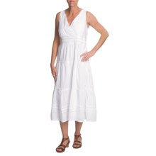 Fresco by Nomadic Traders Monsoon Avalon Dress - Sleeveless (For Women) in White - Closeouts