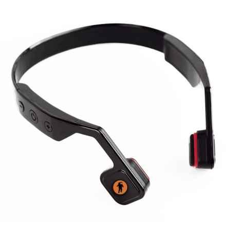 FRESHeTECH All-Terrain Bone-Conductive Headphones in Black - Closeouts