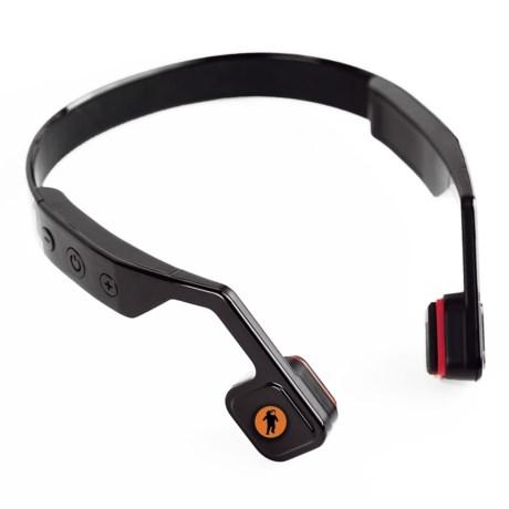 FRESHeTECH All-Terrain Bone-Conductive Headphones in Black