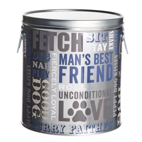 """Fringe Studio Dog Food Storage Bin - 8.75x9.45"""" in Navy"""
