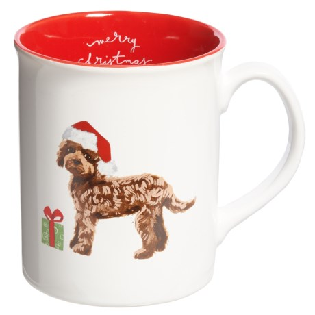 Fringe Studio Holiday Big Dog Mug - 12 fl.oz. in Labradoodle