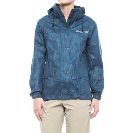 Frogg Toggs All-Purpose Classic Rain Jacket (For Women) in Royal Blue - Closeouts