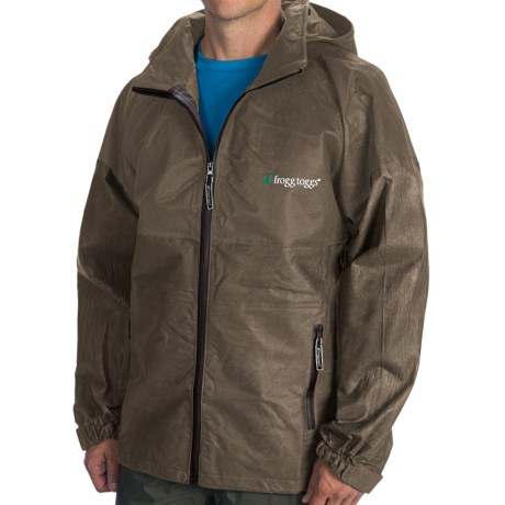 Frogg toggs all sport rain suit jacket fishing hunting for Rain gear for fishing