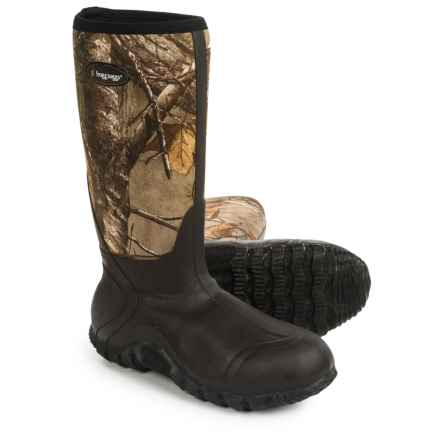 Frogg Toggs Amphib Mudd Hogg Hunting Boots - Waterproof, Insulated (For Men) in Realtree Extra - Closeouts