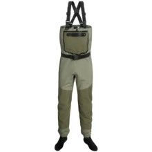 Frogg Toggs Anura Waders - Waterproof Breathable, Stockingfoot (For Men and Women) in Sand/Sage - Closeouts