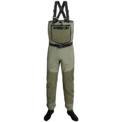 Frogg Toggs Anura Waders - Waterproof Breathable, Stockingfoot (For Men and Women) in Sand/Sage