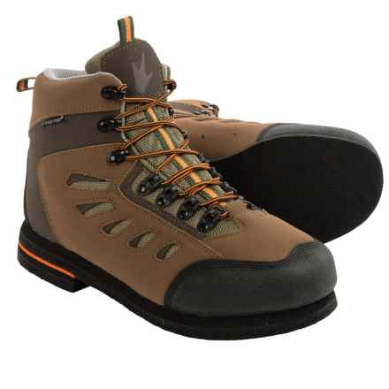 Frogg Toggs Anura Wading Boots - Felt Sole (For Men) in Olive/Brown - Closeouts