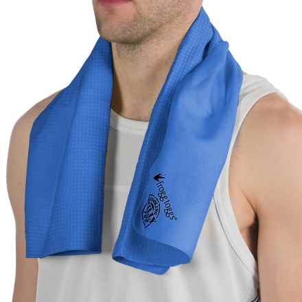 Frogg Toggs Chilly Pad Cooling Towel in Blue - Closeouts