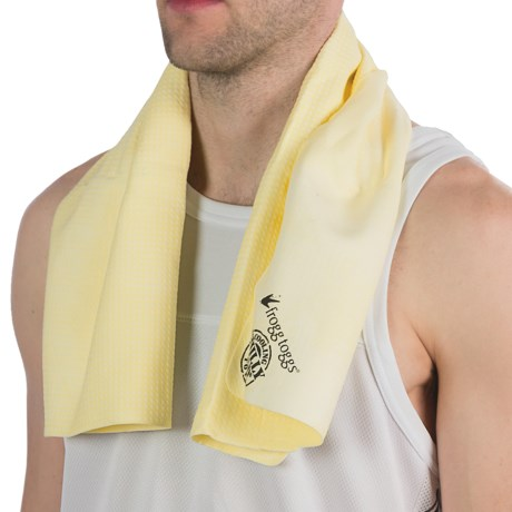 Frogg Toggs Chilly Pad Cooling Towel in Yellow