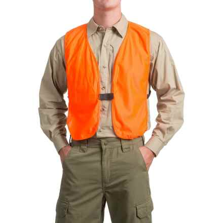 Frogg Toggs Compact Safety Hunting Vest (For Men) in Blaze Orange - Closeouts