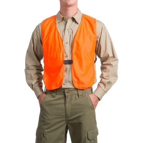 Frogg Toggs Compact Safety Hunting Vest (For Men) in Blaze Orange