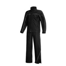 Frogg Toggs Elite Highway Rain Suit - Breathable (For Men) in Black W/Reflective - Overstock