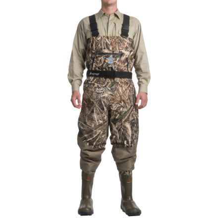 Frogg Toggs Grand Refuge Breathable Chest Waders - Bootfoot, Insulated (For Men) in Max 5 Camo - Closeouts
