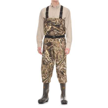Frogg Toggs Hellbender Camo Breathable Chest Waders - Bootfoot, 1200g Thinsulate® (For Men) in Realtree Max 5 - Closeouts