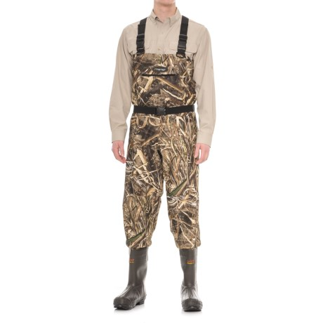 Frogg Toggs Hellbender Camo Breathable Chest Waders - Bootfoot, 1200g Thinsulate® (For Men) in Realtree Max 5