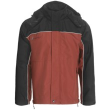 Frogg Toggs Highway Toadz Rain Jacket - Waterproof (For Men) in Clay/Black - Closeouts