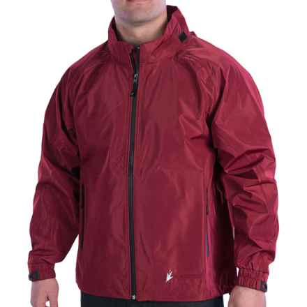Frogg Toggs Karta Rain Jacket - Waterproof (For Men and Women) in Brick - Closeouts