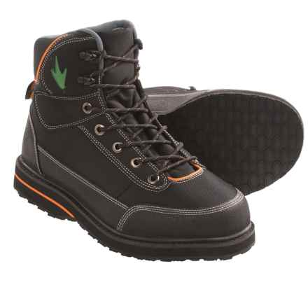 Frogg Toggs Kikker Guide Wading Boots (For Men) in Black - Closeouts