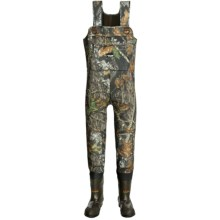 Frogg Toggs Marsh Togg Waders - Cleated Bootfoot, 3.5mm in Mossy Oak Break-Up - Closeouts