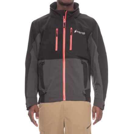 Frogg Toggs Pilot Frogg Guide Jacket - Waterproof (For Men) in Black/Grey - Closeouts