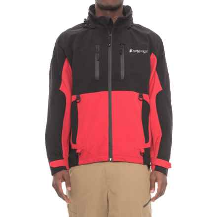 Frogg Toggs Pilot Frogg Guide Jacket - Waterproof (For Men) in Red/Black - Closeouts