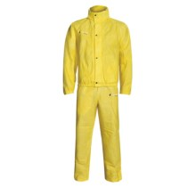 Frogg Toggs Signature Rain Suit -  Waterproof, Breathable (For Men and Women) in Yellow - Closeouts