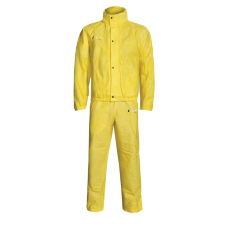 Frogg Toggs Signature Rain Suit -  Waterproof, Breathable (For Men and Women) in Yellow