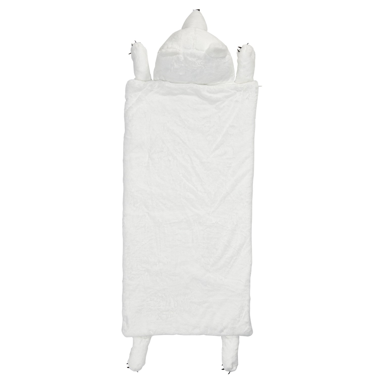 frolics plush polar bear sleeping bag for kids save 33