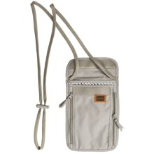 Frontier Deluxe Neck Stash Travel Wallet in Clay - Closeouts