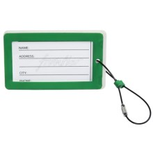 Frontier Eco Luggage Tag in Green - Closeouts
