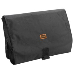 Frontier Hanging Toiletry Kit in Black
