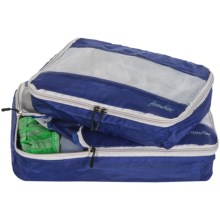 Frontier Lightweight Packing Cubes - Set of 2 in Blue - Closeouts