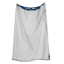 Frontier Mesh Laundry Bag in Blue - Closeouts
