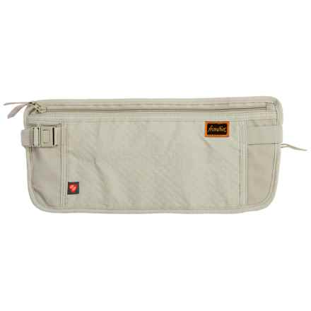 Frontier RFID-Blocking Waist Stash Travel Wallet in Clay - Closeouts