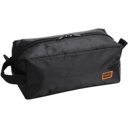 Frontier Top Opening Toiletry Kit in Black