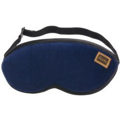 Frontier Travel Eye Mask in Blue