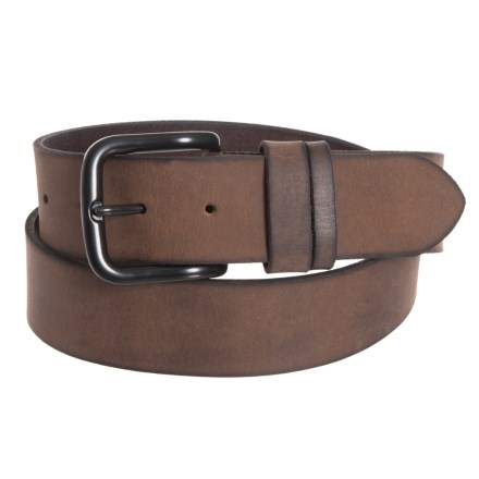 e7bdbebeb238a Frye 38mm Double Strapkeeper Panel Belt - Leather (For Men) in Brown/Black