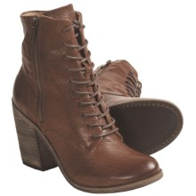 Frye Alexis Boots - Leather, Lace-Ups (For Women) in Cognac - Closeouts