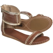 Frye Amelie Two-Piece Sandals - Leather (For Women) in Cognac Multi - Closeouts