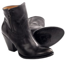 Frye Angela Short Boots - Leather (For Women) in Black - Closeouts