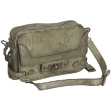 Frye Cameron Clutch Crossbody Purse - Leather (For Women) in Moss - Closeouts