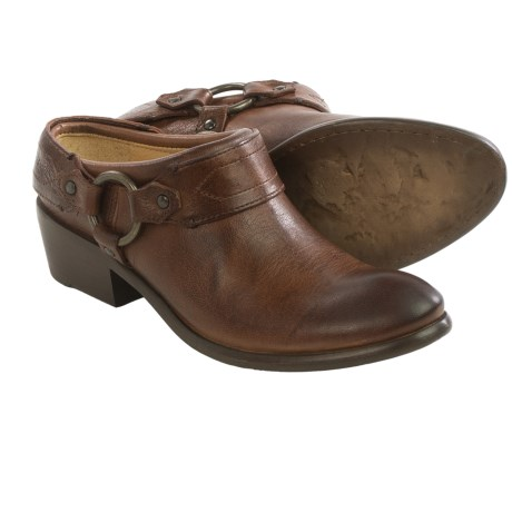 Frye Carson Harness Clogs Leather (For Women)